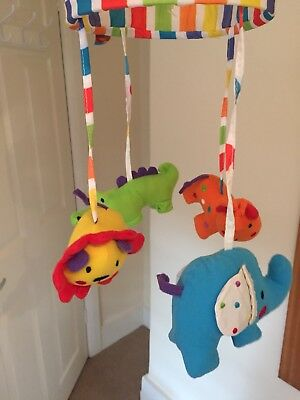 Red Kite Musical Mobile Cot Carousel Lullaby Great Gift Boys Girls Unisex