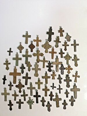 Beautiful crosses of the Old Believers of Russia