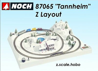 NOCH 87065 Z Scale Train Layout Form *NEW *SHIPS FROM USA* Updated English Plan