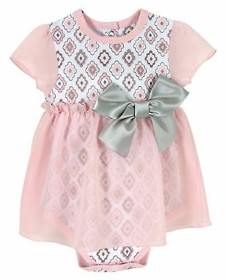 Stephan Baby Diamond Flower, Snapshirt-Style, Chiffon Skirted, Diaper Cover
