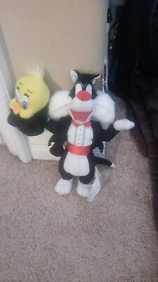 Looney tunes sylvester and tweety doll
