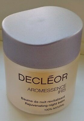 DECLEOR Aromessence Iris Rejuvinating Night Balm 15ml NEW UNUSED RRP £42