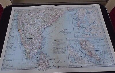 Map 1903 Britannica India Southern Part