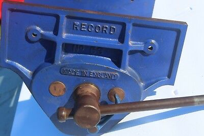 Vintage Record No 53 Quick Release Woodworking Vise Excellent Condition