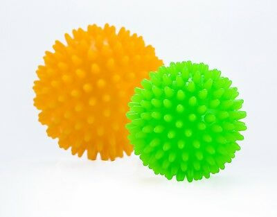 Set of 2 Foot Massage Ball By Vitos Fitness | Roll Pain Relief Plantar Fasciitis