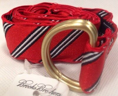 Brooks Brothers Boys Red Belt New NWT