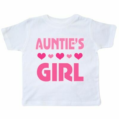 2fcfed5e Inktastic Auntie Girl Niece Gift Toddler T-Shirt Aunty Childs Clothing  Family