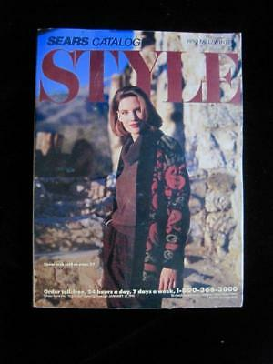 Vtg 1990 Annual Fall/winter Sears Roebuck Department Store Catalog~Vguc
