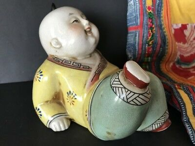 Old Chinese Porcelain Doll  …beautiful collection piece, one of a set listed sep