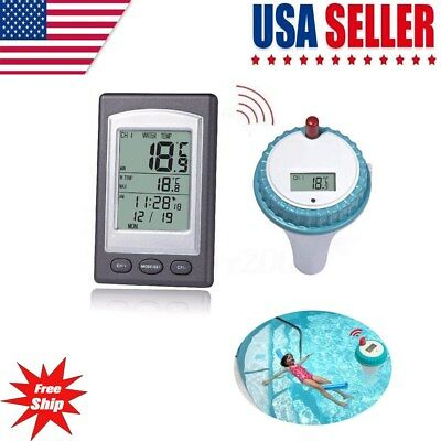 Floating Wireless Remote Swimming Pool Water Pond spa Thermometer Temperature US