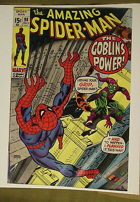 Amazing Spider Man 3 book lot #98, 99, 103 Marvel comics 1971