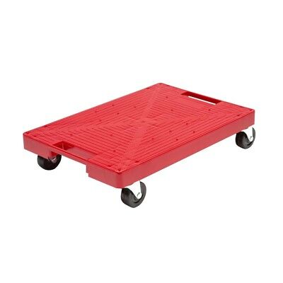 16 in. x 11 in. Multi-Purpose Red Garage Dolly furniture Moving Cart