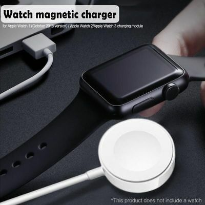 For 38/42mm Apple Watch iWatch 1 2 3 1M Magnetic Charging Cable Cord Charger Pad