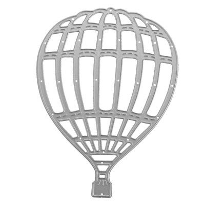 Novelty Hot Air Balloon Cutting Dies Stencils for DIY Embossing Paper Craft