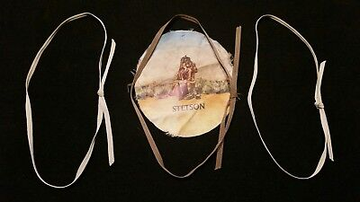 Antique Stetson Hat Company 3 -1/4 Inch Wide Inch Hat Bands with Stetson Liner