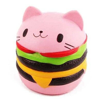 mburger Scented Slow Rising Exquisite Kid Soft Decompression Fun Toys Relax T1E5