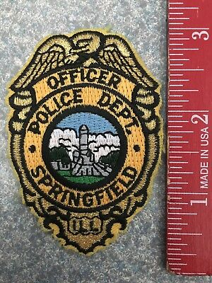Springfield, IL Police Patch