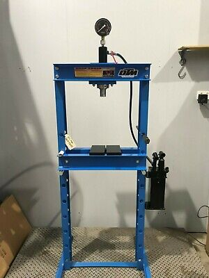 Hydraulic Shop Press 12 ton, Hydraulic Ram With Gauge Suit home or work (SP12)