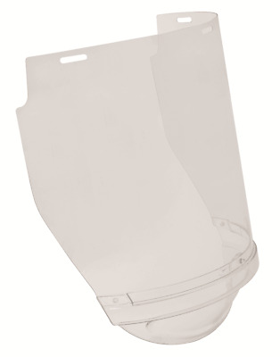 Protector THERMOGUARD+ CHINGUARD VISOR 225x400mm 1mm Thick, Flared CLEAR