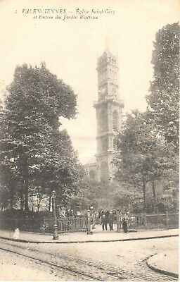 Carte Postale - (59) Nord - CPA - Valenciennes - Eglise Saint Gery