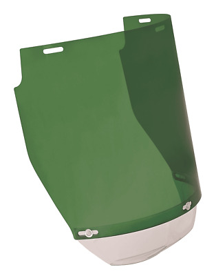 Protector TRIACETATE VISOR HOLDER 225x400mm 1mm Thick, Shade 2 GREEN *Aust Brand