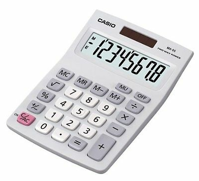 desk top calculator casio office desktop calculater digit school solar power new
