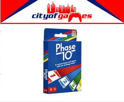 Phase 10 Card Game Brand New From The Makers of Uno In Stock
