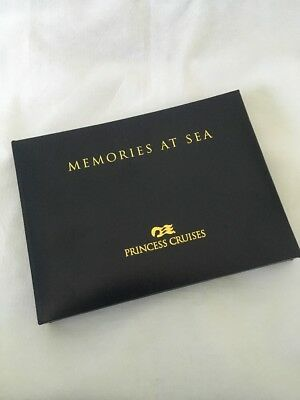 NWT Princess Cruises Memories At Sea Photo Album 6-Ring 15 Storage Sheets