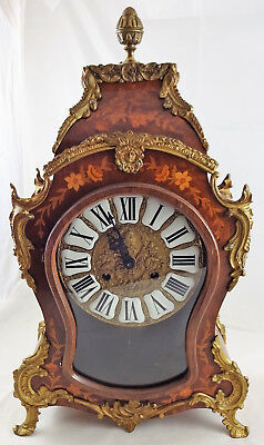 Walnut – Boulle clock – FHS – Germany – 2nd half 1900