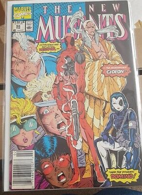 New Mutants 98 First Appearances Of Deadpool