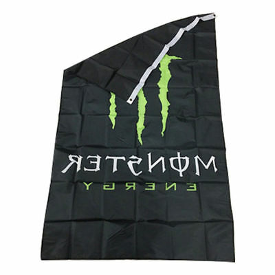 3x5 Foot Monster Energy Flag UV Fade Resistant Banner