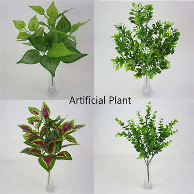 "14.2"" Artificial Fittonia Green Grass Plant - Houseplant - Office Plastic Plant"