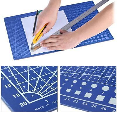 Craft Cutting Mat 1cm Measuring Grid Non Slip Surface A4_