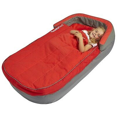Readybed Deluxe MyFirst Inflatable Toddler Air Bed, Sleeping Bag, camping trip