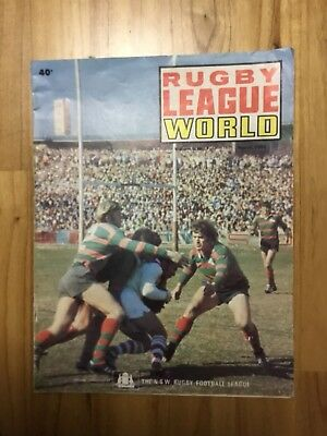 1972 Rugby League World - March Edition