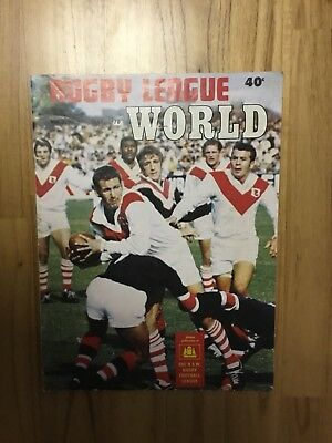 1970 Rugby League World - May Edition Volume 3, No.3.