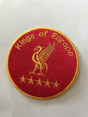 LFC Embroidered Patch Patches Liverpool Football Club Badge Iron/sew
