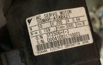 1PC Used Yaskawa servo SGMAH-A5ABA21 tested In Good Condition #ST