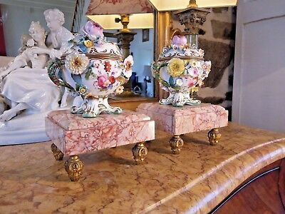 Display Stands French Antique Marble and Gilt Bronze