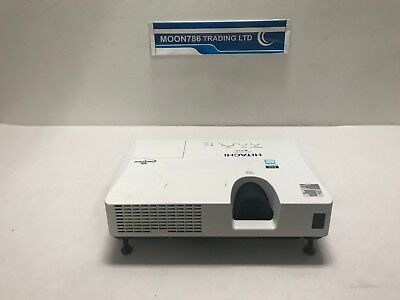 Hitachi Cp-X2021Wn 3Lcd Hdmi Projector 10342H Lamp Hour Used Image Dull Ref:1418