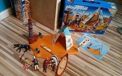 PLAYMOBIL Super Set Indianerlager 4012 mit OVP