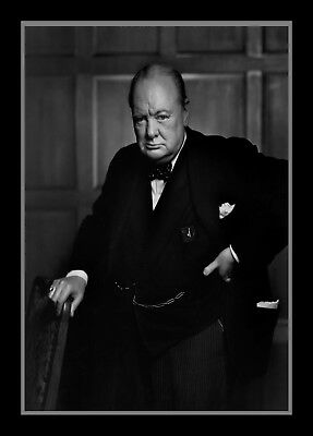 Collectors/Photograph/Print/Winston Churchill/UK Prime Minister/Photo