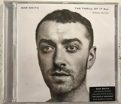 SAM SMITH THE THRILL OF IT ALL DELUXE CD New and Sealed 4 Bonus Tracks