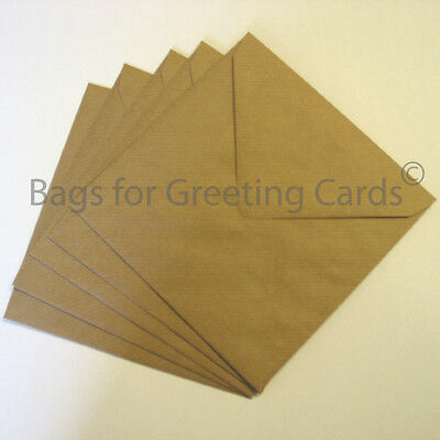 Brown Ribbed & Fleck Eco-Kraft Envelopes