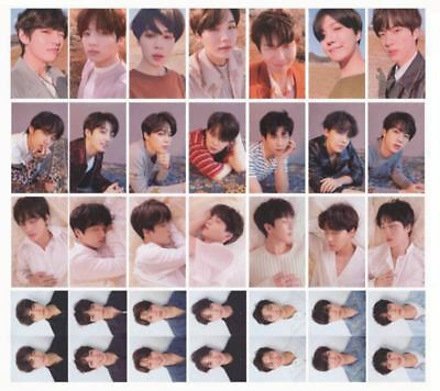 BTS Fake Love Yourself Tear Original 4 Photocard Members with Free Gift