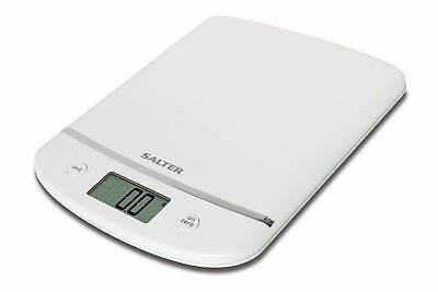 Salter Aquatronic White Electronic Digital 5kg Kitchen Scale 1056WHDR