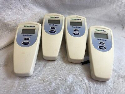 (4) Welch Allyn SureTemp 678 Thermometer Lot