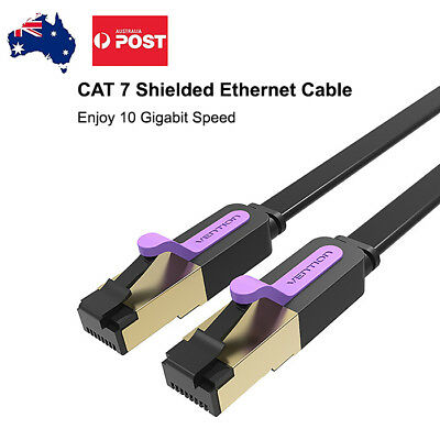 Premium 1M 2M 3M 5M RJ45 CAT7 Ethernet Lan Cable Male To Male 10 Gigabit