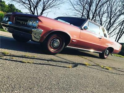 Le Mans Tri-Power 1964 Pontiac GTO Sports Coupe Tri-Power 79,772 Miles Sunfire Red Sports Coupe
