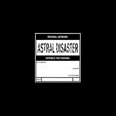 COIL Astral Disaster - Yellow Vinyl LP (CURRENT 93, NURSE WITH WOUND, TG)